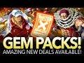 AMAZING NEW GEM PACK! Katakuri & V2 Akainu Available! (ONE PIECE Treasure Cruise)