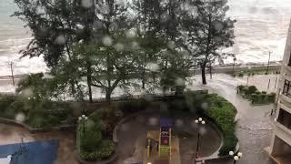山竹10號風球來襲,杏花邨失守 Supertyphoon Mangkhut attacks Hong Kong