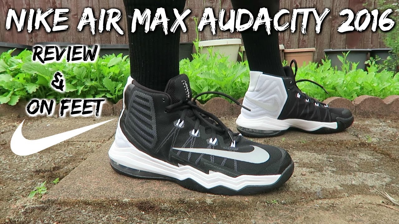 Nike Air Max Audacity 2016 Review & On Feet - Black/White