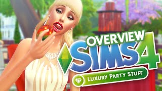The Sims 4: Luxury Party Stuff // Overview