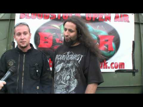 Infernal Tenebra interview @ Bloodstock 2012