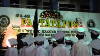 Panunumpa, Graduation Song, Himno ng Marikina at DepEd NCR Hymn