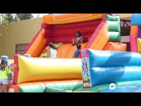VÍDEO: Clausura de la Ludoteca de Verano de Lucena