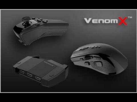 Venom X setup on the PS4 with BF4 Multiplayer gameplay