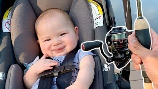 TAKING MY SON ON HIS FIRST FISHING TRIP EVER!!!