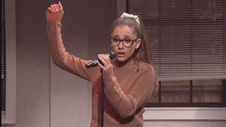Ariana Grande Hilariously Channels Britney Spears, Celine Dion and Rihanna in 'SNL' Sketch