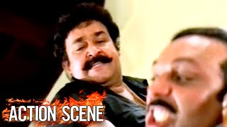 Mohanlal Best Action Scenes # Malayalam Action Movies Full HD #Best Of Mohanlal Movies