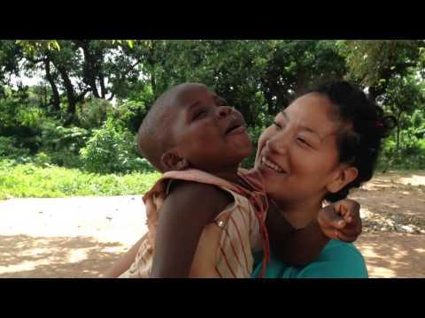 Volunteer in Ghana, Africa