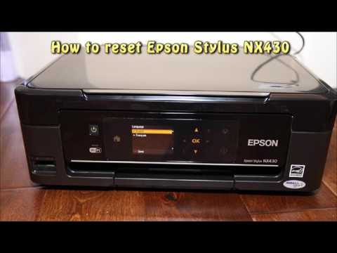 Reset Epson NX430 Waste Ink Pad Counter