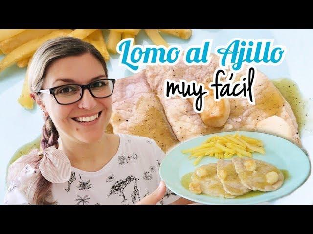 LOMO AL AJILLO *Recetas de Carne Fáciles y Económicas*
