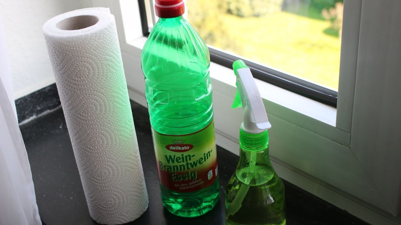 Bestes Mittel Zum Fenster Putzen Essig Best Means For Window Cleaning Vinegar