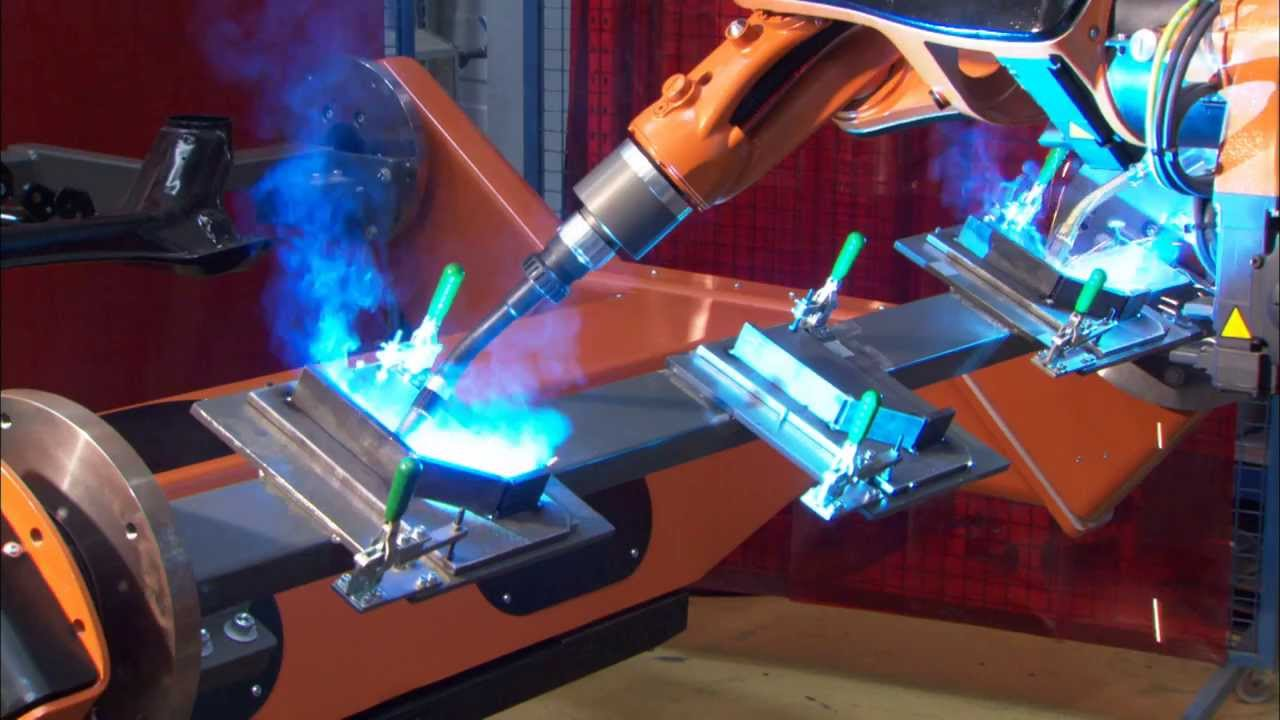 Kuka Robots For The Welding Industry Youtube