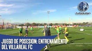 [JUEGO DE POSESION] Villareal ► 1 Contra 1 En 4 Cuadrantes + 2 Jugadores Neutrales Libres