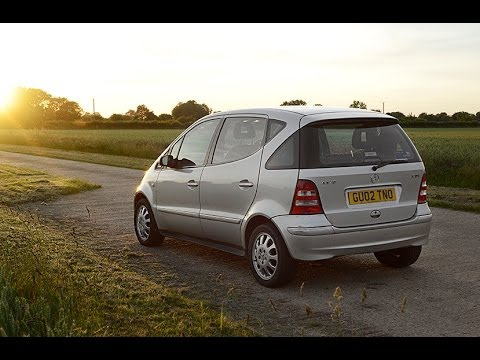 2002 mercedes a170 diesel video review starting youtube. Black Bedroom Furniture Sets. Home Design Ideas