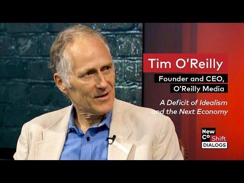 Tim O'Reilly discusses the Next economy | NewCo Shift Dialogs
