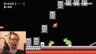 Mario Maker - All We Gotta Do Is JUMP! | Super Expert #12