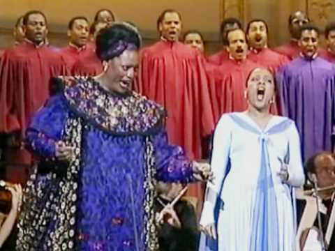 Jessye Norman + Kathleen Battle  'He's Got The Whole World In His Hand'  1990