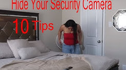 how to hide security cameras | top 10 tips hide security camera | hide security camera wires outside