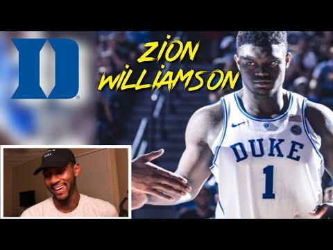 Zion Williamson Duke vs McGill -  Highlights 🔥 REACTION