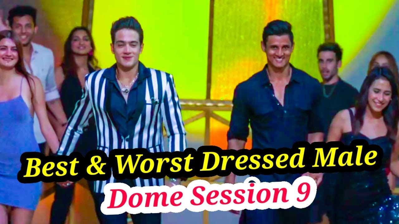 DOME SESSION 9: BEST & WORST DRESSED MALE CONTESTANTS   JAY & KEVIN TWINNING  SHIVAM BEING GLAMAROUS