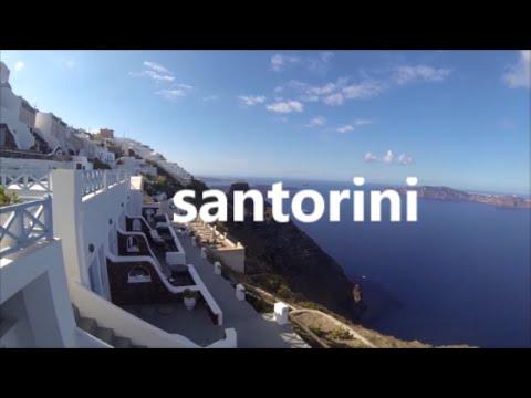 BEAUTIFUL SANTORINI TRIP 2016 GREECE HD GOPRO