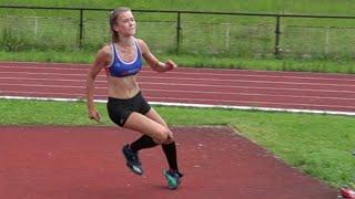 Tereza Vlčková - 161 cm osobní rekord (16.6.2016 F-Místek)