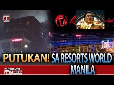 Philip News |  KAGULUHAN SA RESORTS WORLD MANILA!