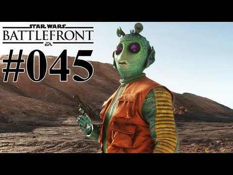 STAR WARS BATTLEFRONT #045 Greedo ★ Let's Play Star Wars Battlefront [Deutsch]