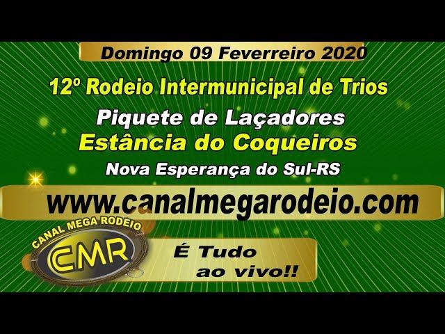 12º Rodeio  Intermunicipal de Trios .domingo 09 de fevereiro de 2020 -Nova Esperança do Sul-RS