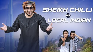 Sheikh Chilli vs Local Indians | Funny Video | The Baigan Vines