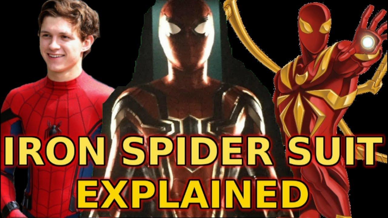 iron spider armor | explained - avengers infinity war - youtube