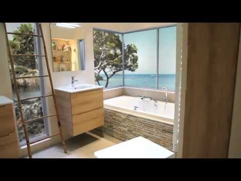 Salle de bain zen youtube for Leroy merlin sdb 3d
