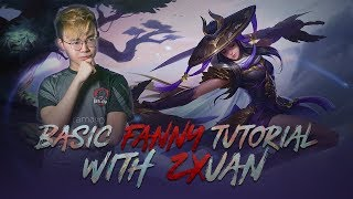 Basic Fanny Tutorial with Zxuan! (With Indo Subs)