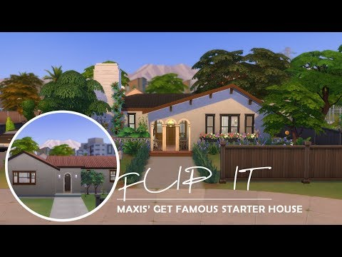 RENOVATE MAXIS' DEL SOL VALLEY HOUSE   THE SIMS 4   #FlipIt - YouTube