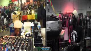 "ABA SHANTI I SOUNDSYSTEM @ reggae bus #6 - last dub tune ""guidance"" \ brussels 8-3-2014"