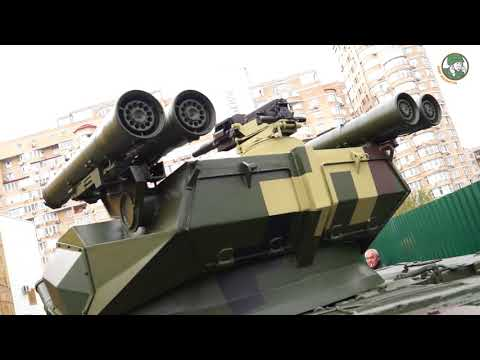 Arms & Security 2017 - Day 2: Introducing Ukraine's new military vehicles