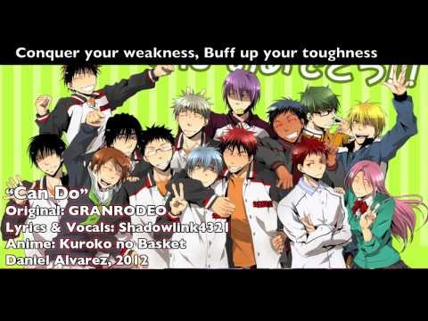 ENGLISH 'Can Do' Kuroko no Basket (TV Size)