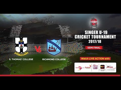 S. Thomas' College vs Richmond College - Singer U19 Limited Overs Tournament – 2nd SF