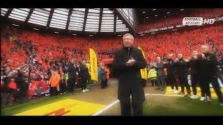 Sir Alex Ferguson last match | Последний матч Алекса Фергюсона