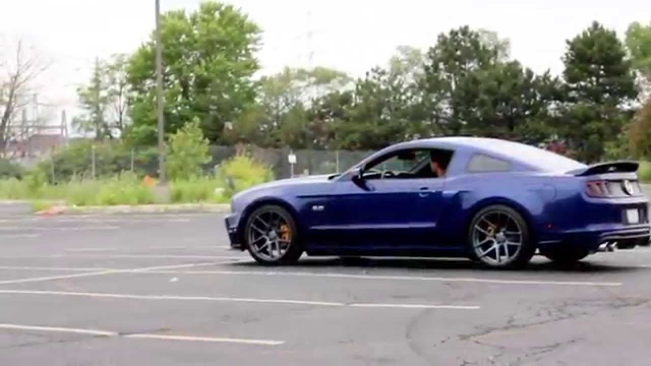2013 mustang gt cs with full exhaust youtube