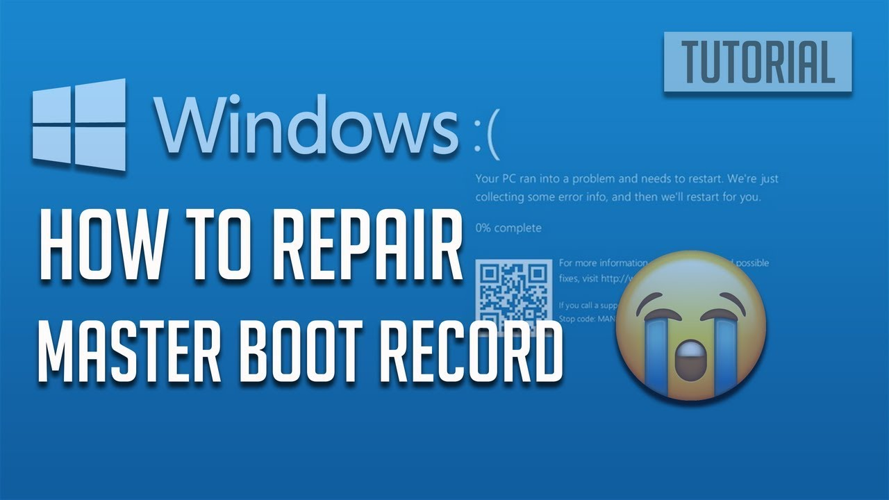 How Reset and Repair Windows 10 Master Boot Record- [2019]