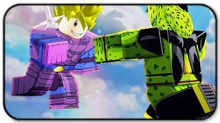 Fighting Imperfect Cell In Roblox Dragon Ball Z Final Stand