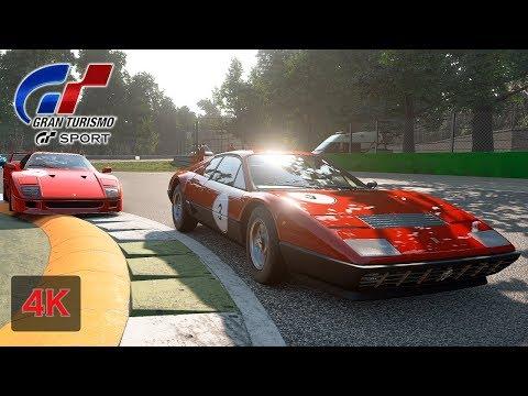 Gran Turismo Sport Onboard [4K] Ferrari 512 BB '76 - La Festa Cavallino - Professional League