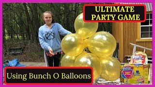 Ultimate Party Game with Zuru Balloons