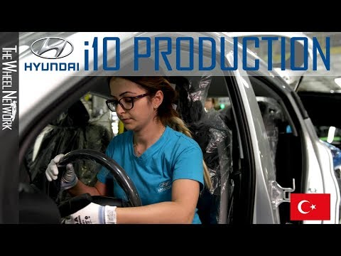 Hyundai i10 Manufacturing in İzmit, Turkey