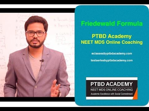 Friedewald Formula