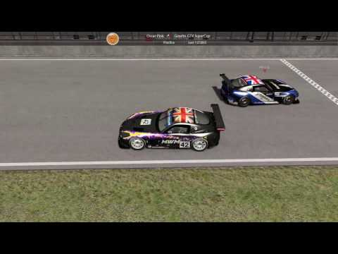 Ginetta practice - epic finish vs Petrol