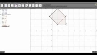Teorema de Pitágoras con Geogebra.