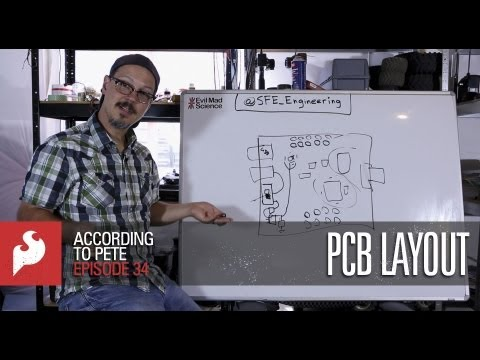 SparkFun According to Pete #34: PCB Layout
