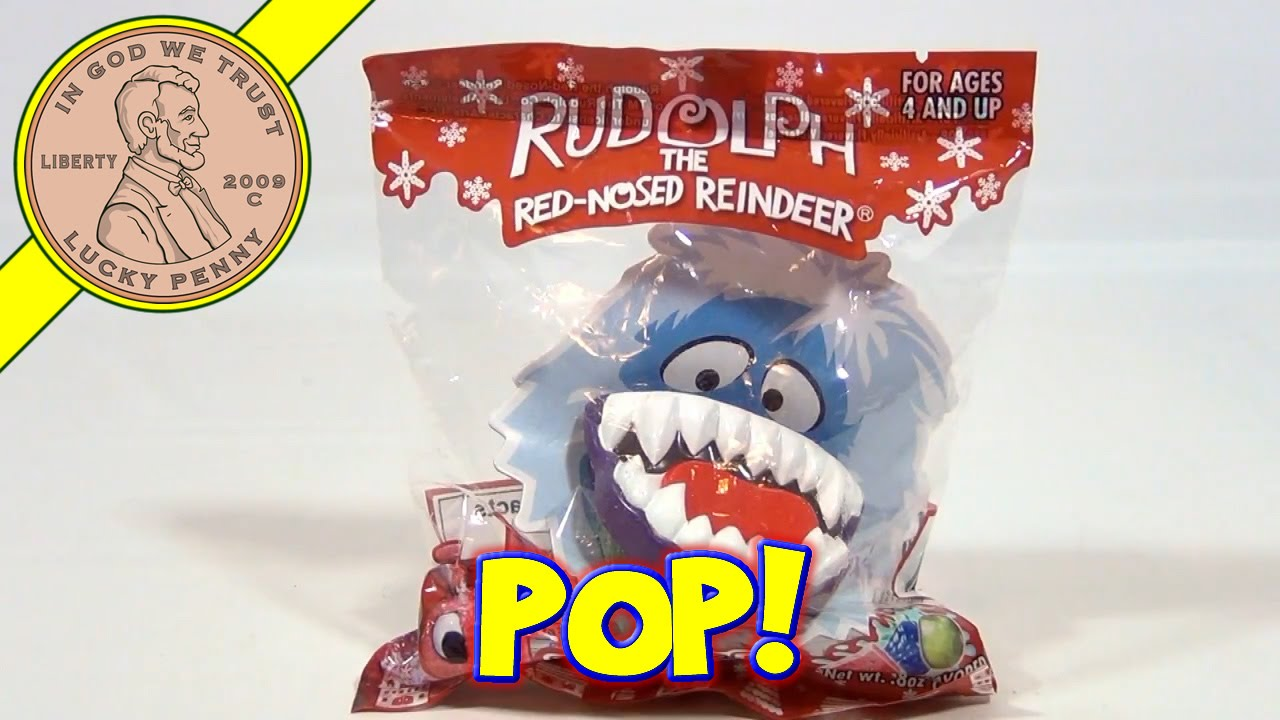 Rudolph the red nosed reindeer snow monster - photo#44